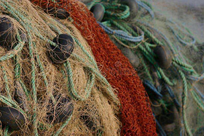 Rede de pesca foto de stock royalty free