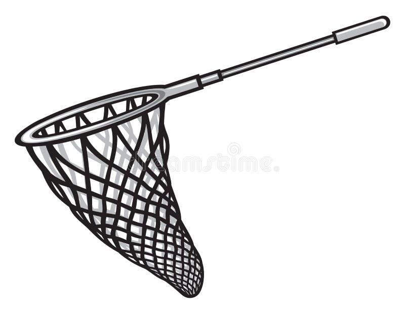 Rede de pesca ilustração stock