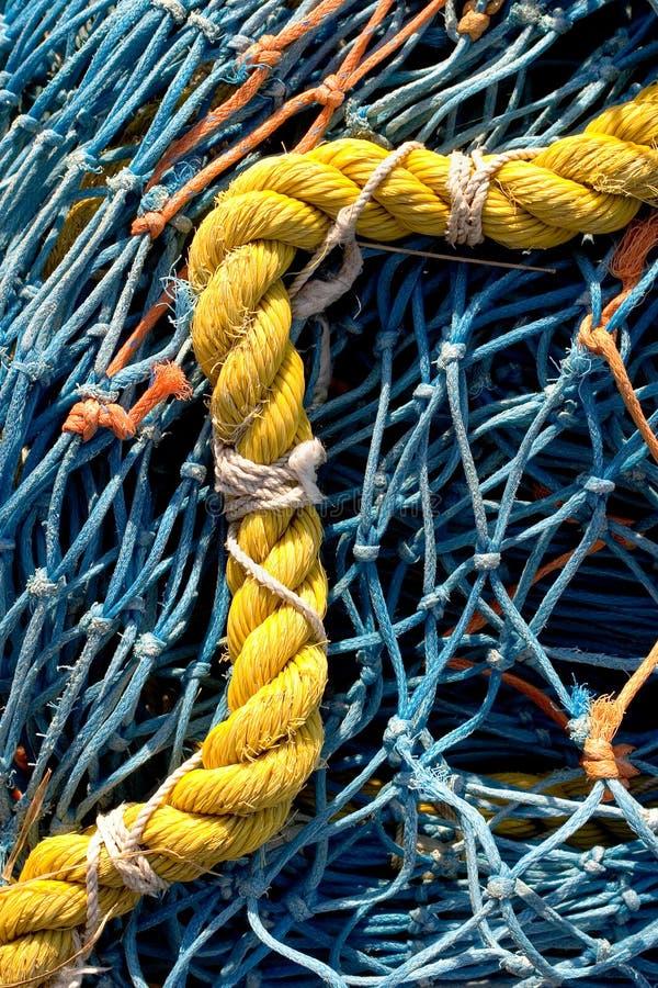 Rede de pesca 4 foto de stock