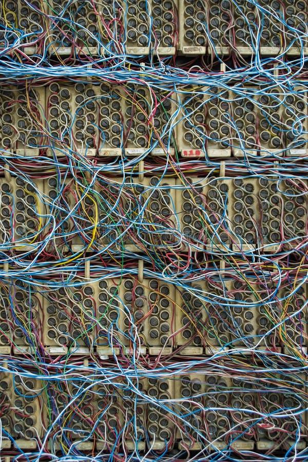 Rede de telefone imagem de stock