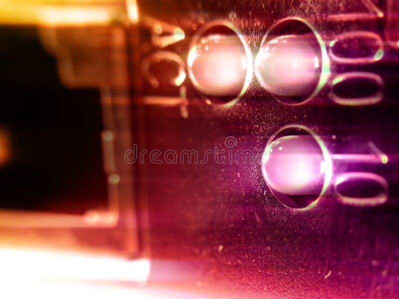 Rede do close up ilustração stock