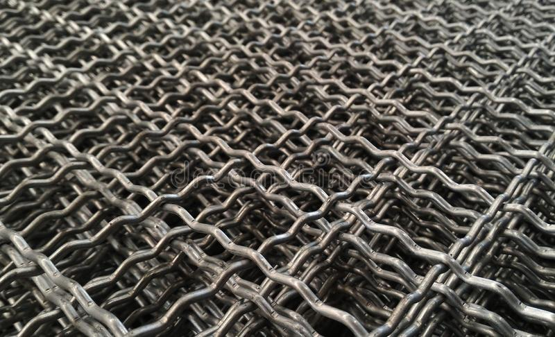Rede do metal do detalhe foto de stock royalty free