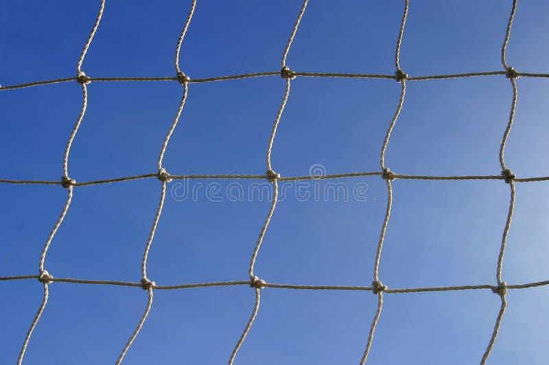 Rede do objetivo foto de stock