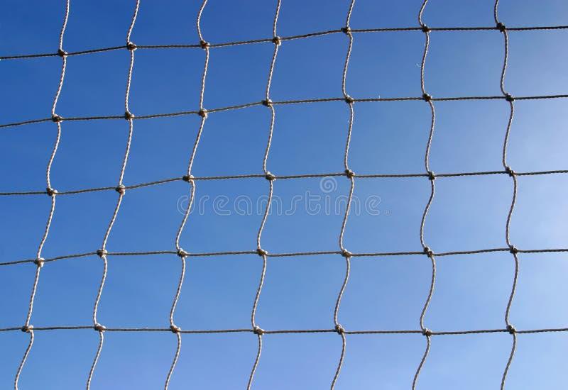 Rede Do Objetivo Do Esporte Do Futebol Foto de Stock
