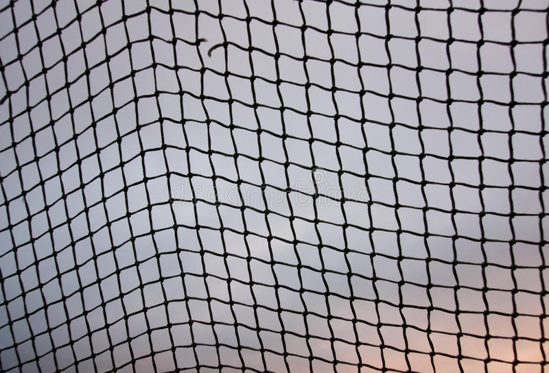 Rede do objetivo do futebol imagem de stock royalty free