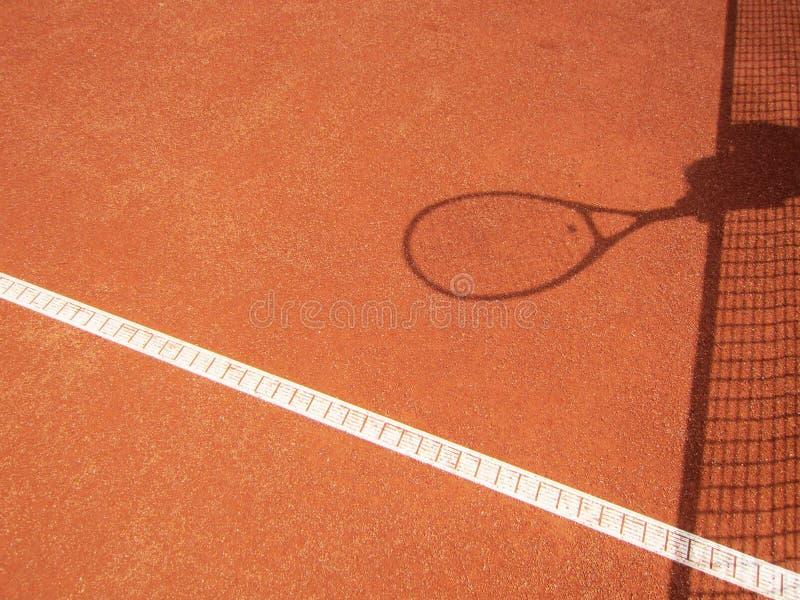Download Rede Do Tênis E Sombra Da Raquete (63) Imagem de Stock - Imagem de lazer, compita: 29840783