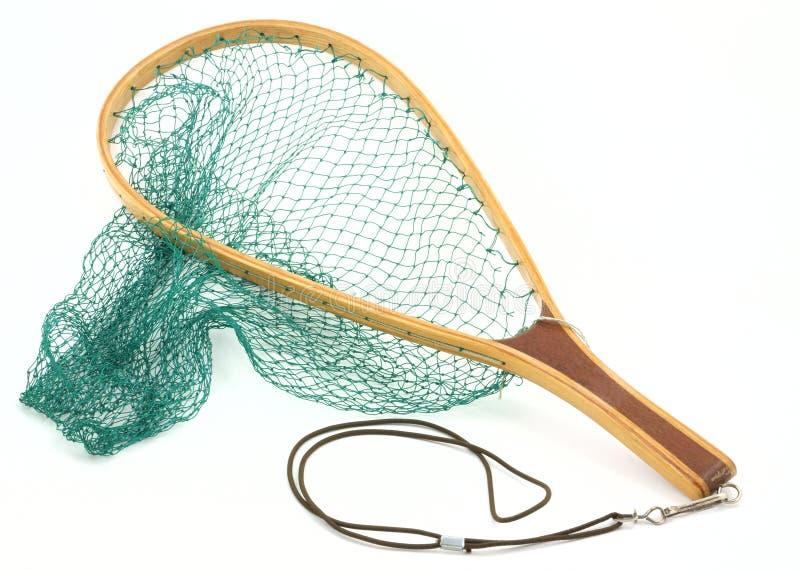 Rede dos peixes da truta imagem de stock