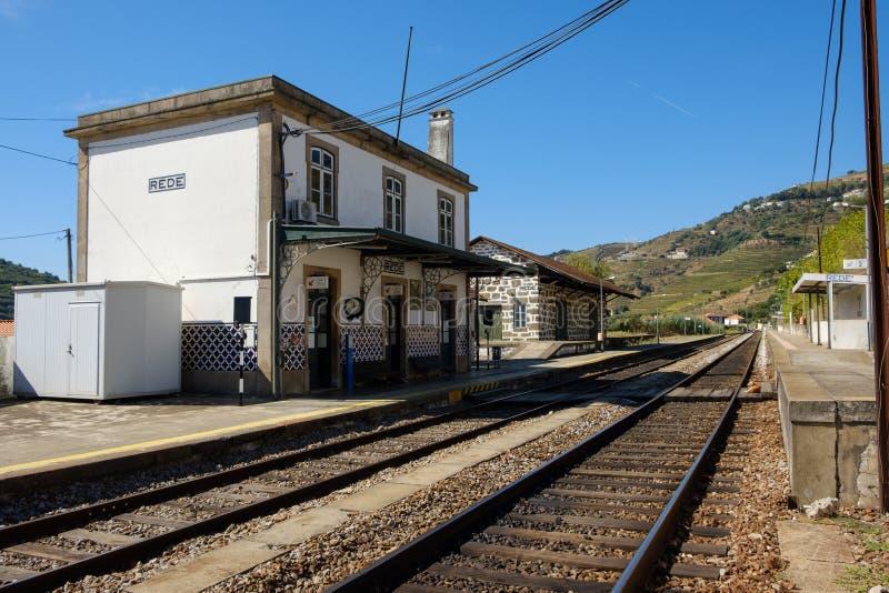 Rede, gare ferroviaire photographie stock libre de droits