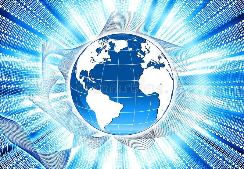 Rede global imagens de stock royalty free