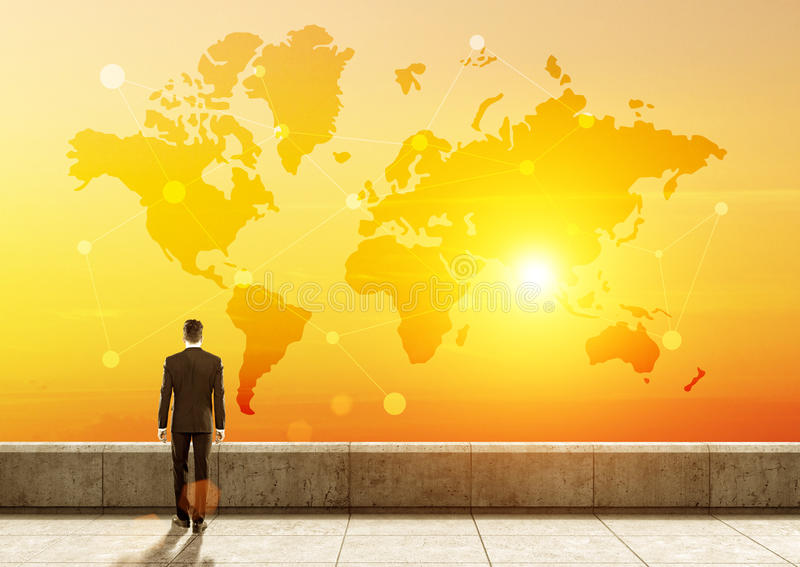 Rede global imagem de stock royalty free