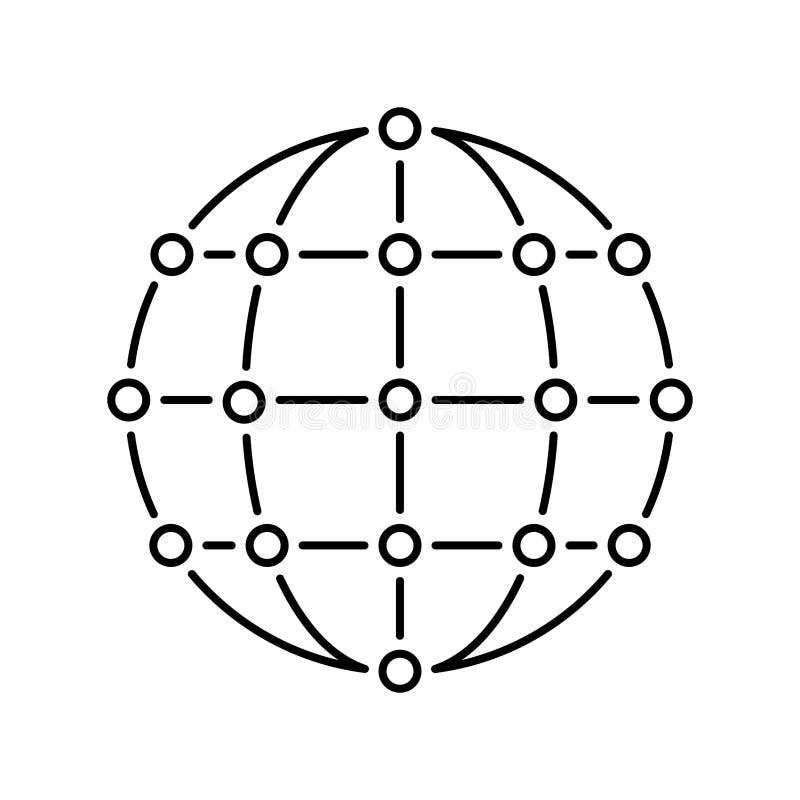 rede ilustração royalty free
