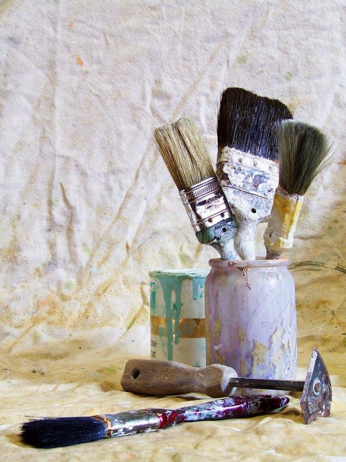 Redecorating /B photo libre de droits