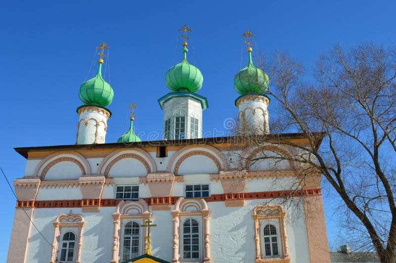 Redeemer Church. Russia.Solikamck. royalty free stock image