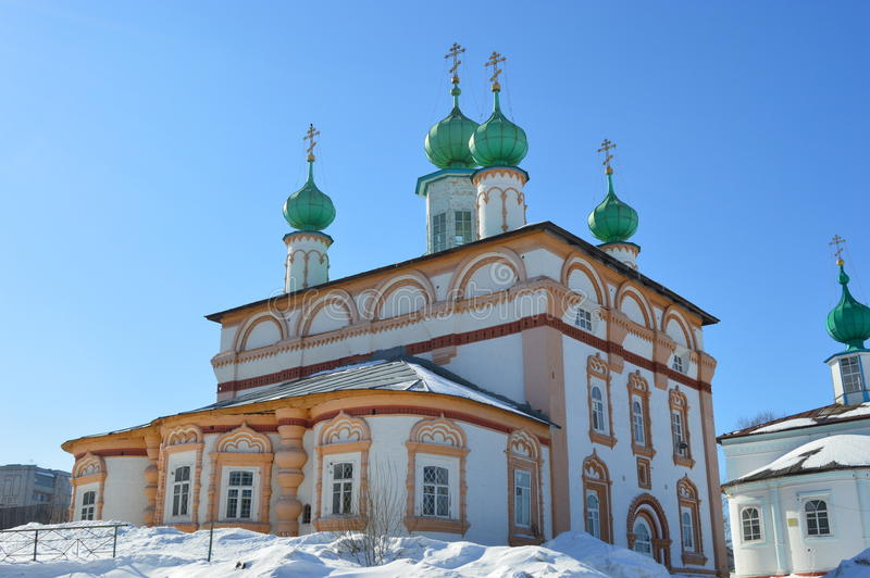 Redeemer Church. Russia.Solikamck. stock images