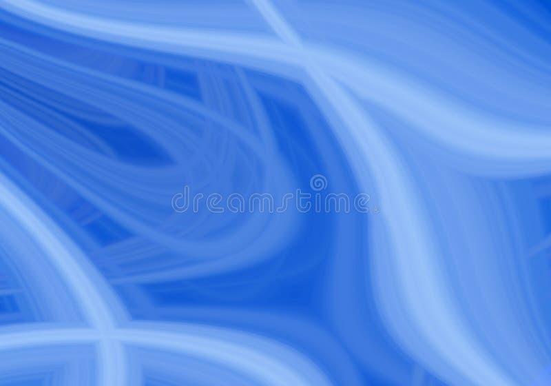 Redemoinho azul ilustração stock