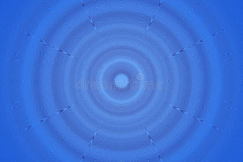 Redemoinho azul fotografia de stock royalty free