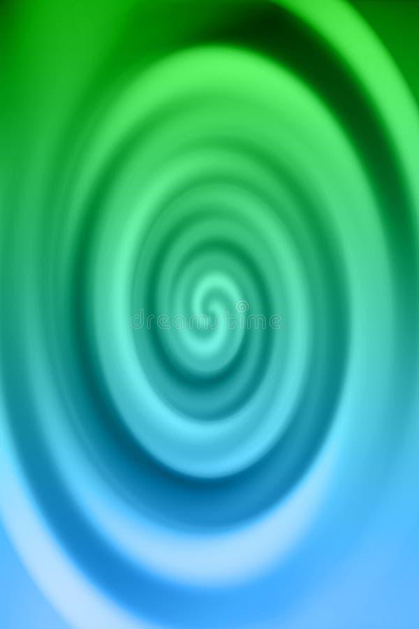Download Redemoinho Do Azul & Do Verde Ilustração Stock - Ilustração de profundidade, azul: 535352