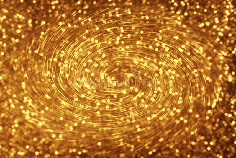 Redemoinho dourado foto de stock
