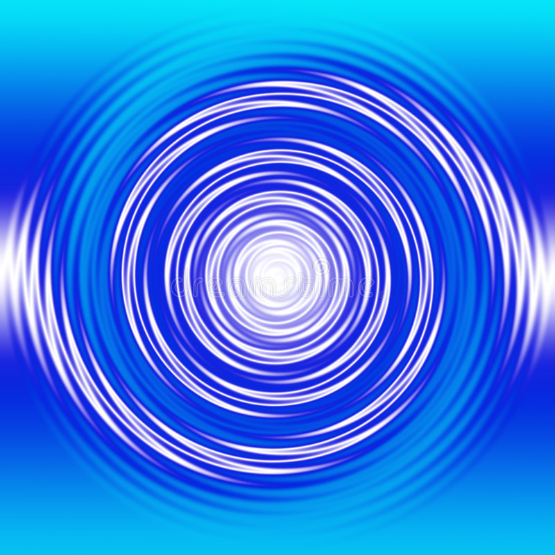 Redemoinho líquido ilustração do vetor