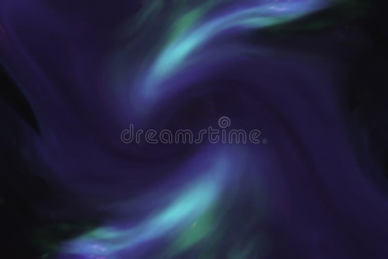 Redemoinhos cósmicos de incandescência imagem de stock