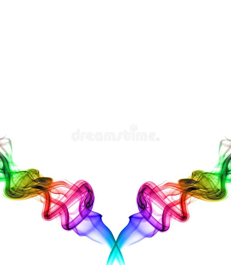 Redemoinhos do arco-íris imagens de stock royalty free
