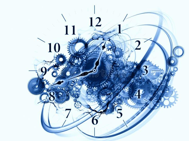 Redemoinhos do tempo ilustração stock