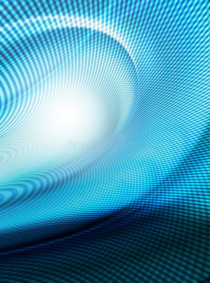Redes azuis abstratas ilustração royalty free
