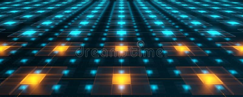 Redes de la alta tecnología imagenes de archivo