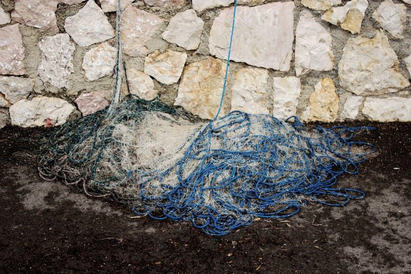Redes del pescador fotos de archivo libres de regalías