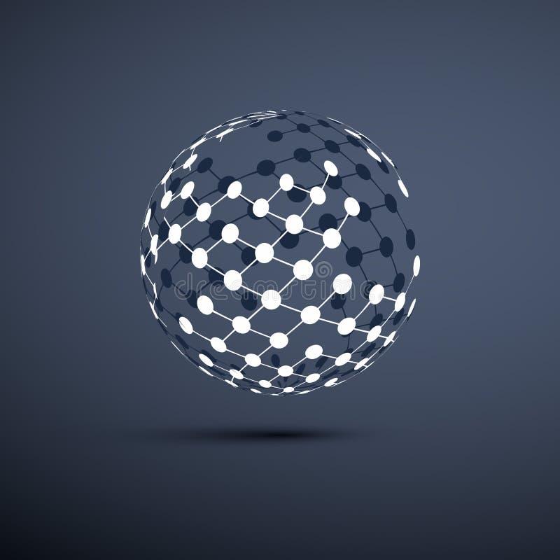 Redes - diseño del globo libre illustration