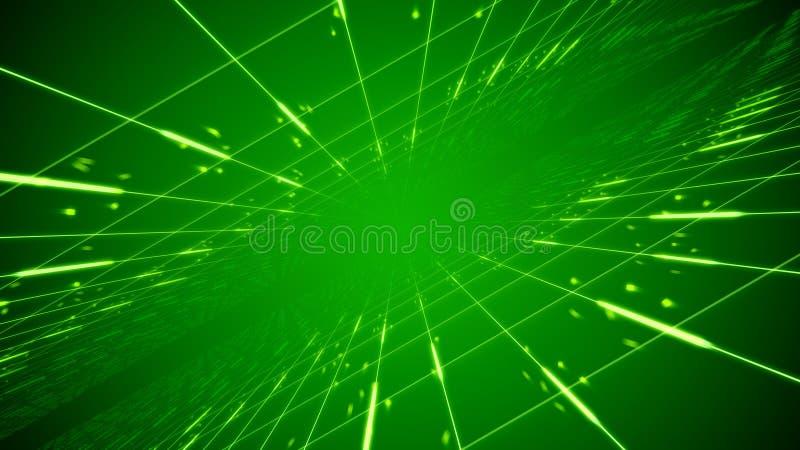 Redes que olham como um tubo do tempo ilustração do vetor