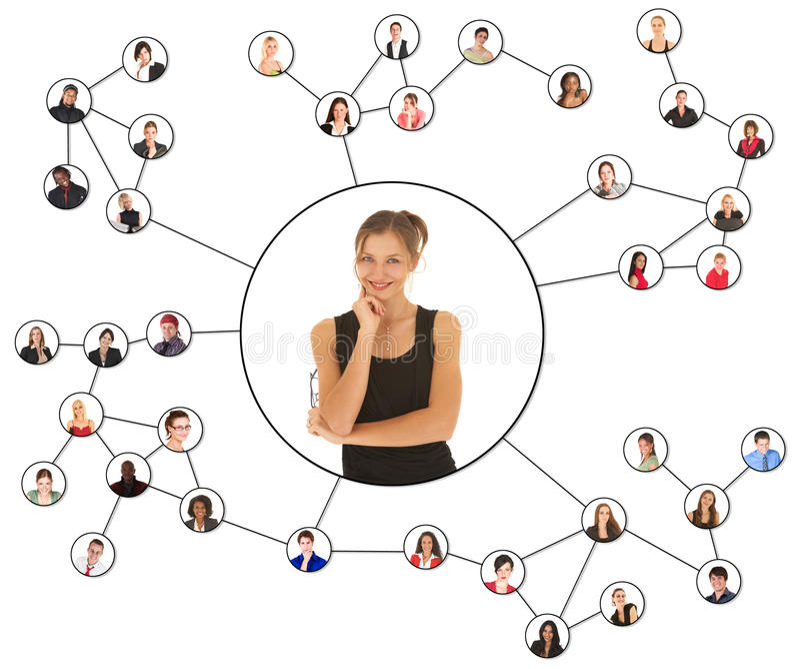 Redes sociais imagem de stock royalty free