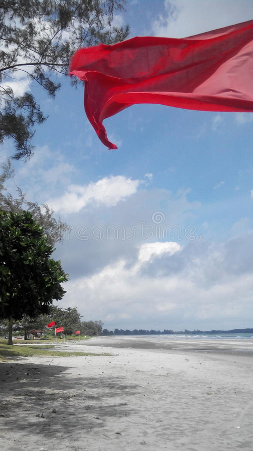 Redflag fotografía de archivo