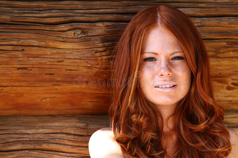 Redhair Beauty Royalty Free Stock Image