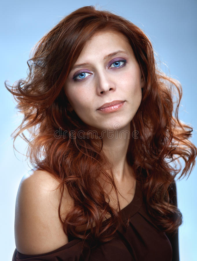 Free Redhair Beauty Woman Stock Photos - 27274473