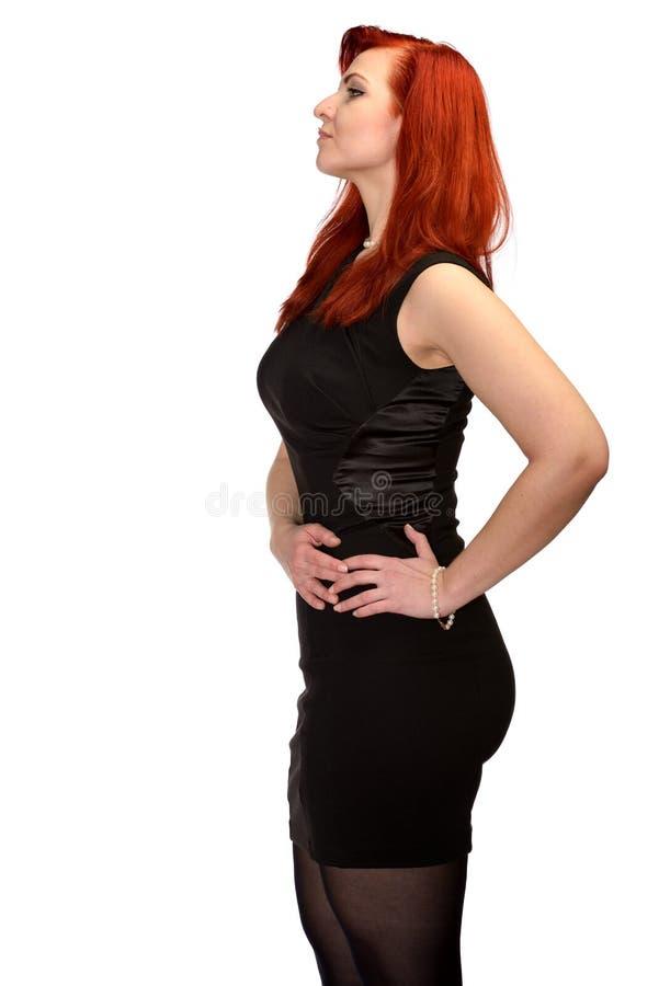 Redhead κορίτσι στοκ φωτογραφία με δικαίωμα ελεύθερης χρήσης
