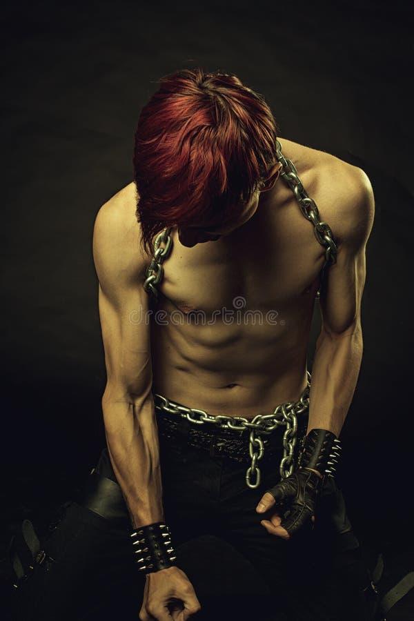 Redhead σκλάβος στοκ εικόνες με δικαίωμα ελεύθερης χρήσης