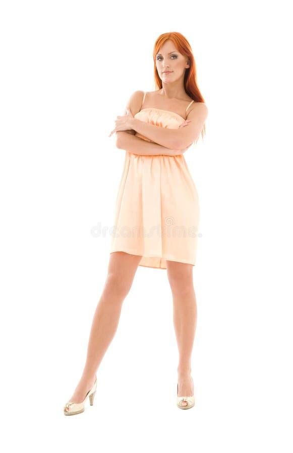 redhead ψηλός στοκ εικόνα