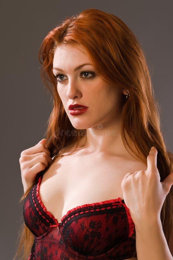 Download Redhead foto de stock. Imagem de freckles, face, retrato - 12807072