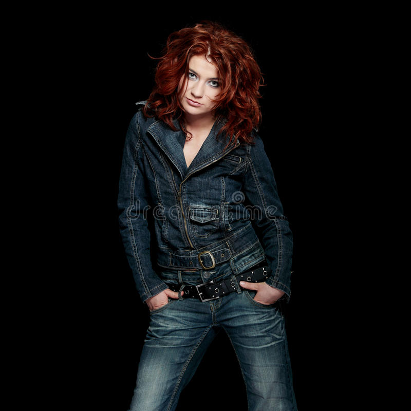 Redhead stock images
