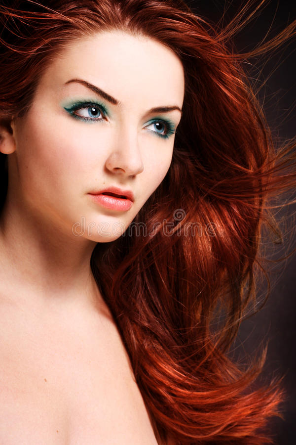 redhead стоковое фото rf