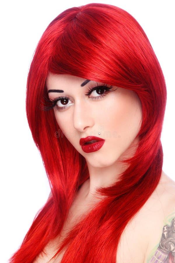 redhead arkivbilder