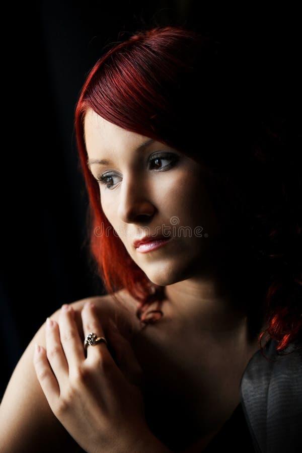 redhead στοκ εικόνα