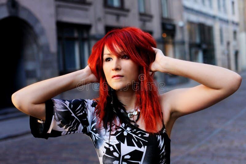 redhead στοκ φωτογραφία