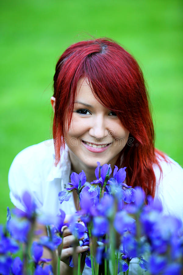 redhead στοκ φωτογραφία με δικαίωμα ελεύθερης χρήσης