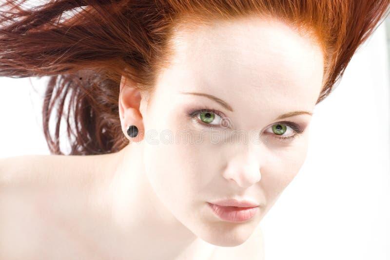 Redhead fotografia de stock royalty free