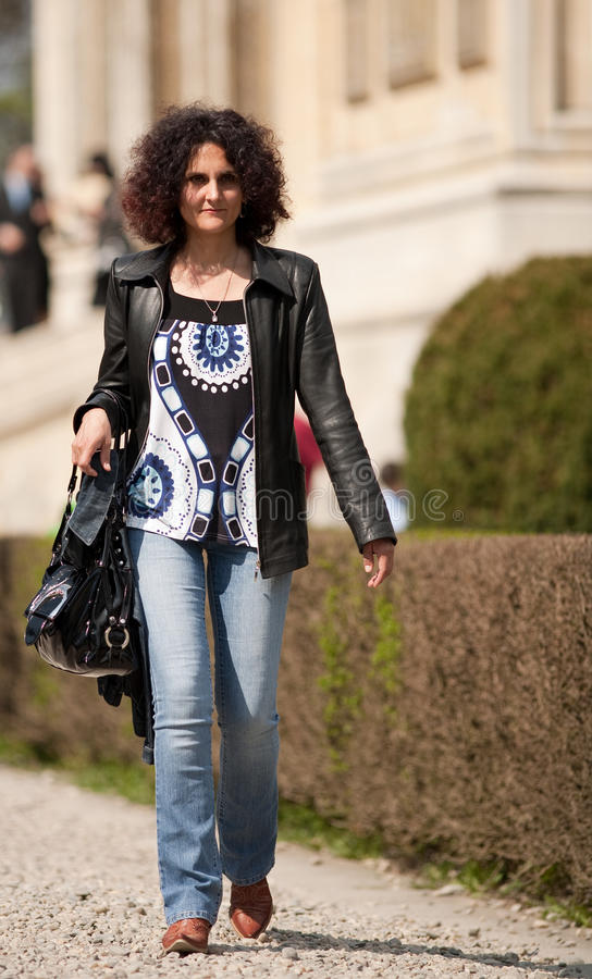 Download Redhead With Curls Outdoor Royalty Free Stock Photos - Image: 13933008