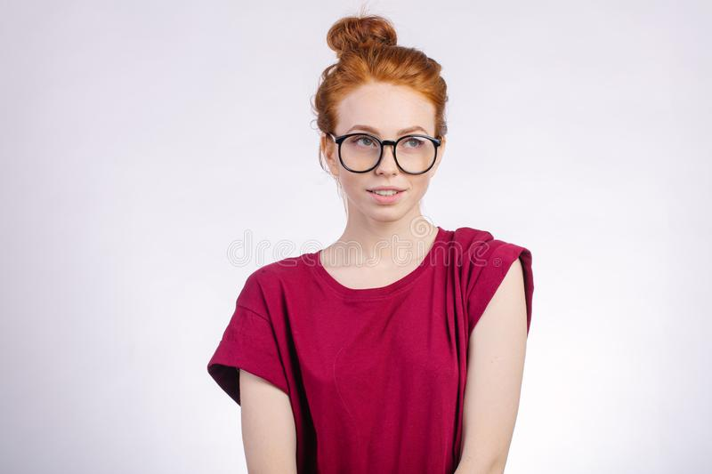 Redheads with glasses