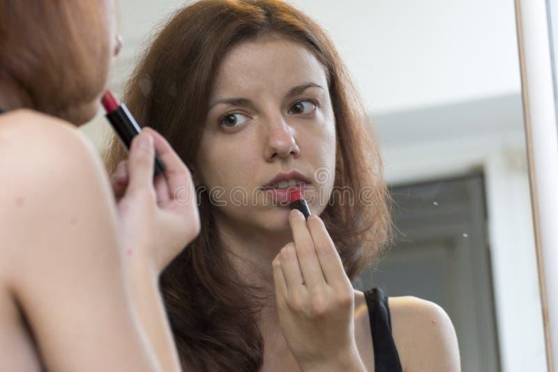 Makeup mirror stock images