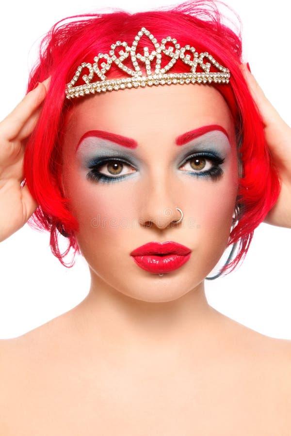 Redhead queen